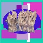 3 Yorkie Puppies