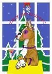 Christmas Diva Boxer