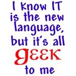Geek Language T-shirts & Gifts