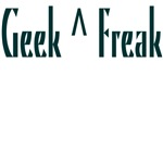 Geek^Freak T-shirts & Gifts