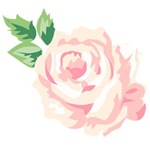 Single Vintage Rose