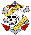 Davy Jones Pirate Insignia