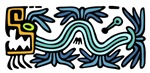 Tribal Feathered Serpent