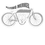 flying merkel