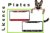 GSD License Plate frames