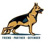German Shepherd Friend