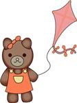 Teddy Flies A Kite
