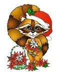 Raccon Christmas