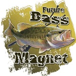 Future Bass Magnet Fishing Humor T-shirts and Gift