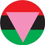 Pink Triangle -African American Colors