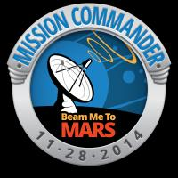 Beam Me To Mars: Mission Commander