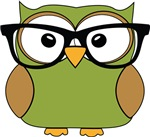 Funky Hipster Owl
