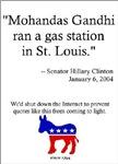 Brand Democrat Hillary Clinton Gandhi