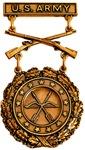 EIC Rifleman badge bronze