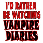 Watching Vampire Diaries