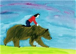 Dreamtime Bear and Child