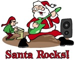 Santa Rocks t-shirts & gifts