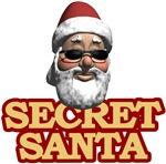 Secret Santa t-shirts & gifts