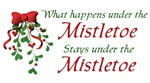 Under the Mistletoe t-shirts & gifts