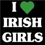 I love Irish Girls t-shirts