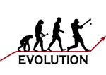 Baseball Evolution t-shirts & gifts