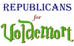 Republicans for Voldemort T-shirts & Gifts
