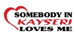 Somebody in Kayseri loves me