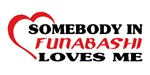 Somebody in Funabashi loves me