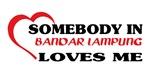 Somebody in Bandar Lampung loves me