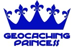 Geocaching Princess - Blue3
