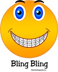 Bling Bling Smiley t-shirts & gifts