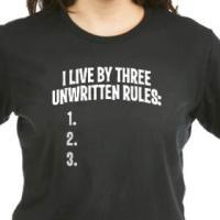3 Unwritten Rules