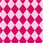 Hot Pink Diamond Checkerboard