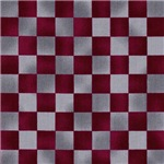 Maroon and Silver Checkerboard
