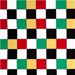Multicolored Checkerboard