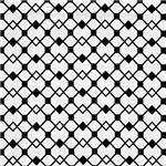 Black Checkerboard Diamond