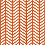Orange Lattice Weave