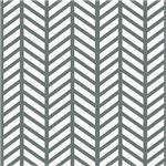 Gray Chevron Stripe Weave