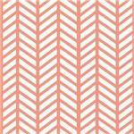 Peach Weave Chevrons