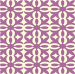 Violet Victorian Lace Pattern