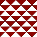 Dark Red Triangles