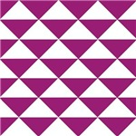 Grape Purple Triangles