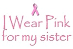 Breast Cancer Awareness: I wear pink for my sister
