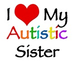 I love my autistic sister t-shirt.