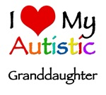 I love my autistic granddaughter t-shirt. Support