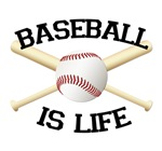 Baseball is Life #2 T-shirts. Because you know bas