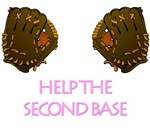 Help Second Base T-shirts. Breast Cancer.
