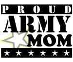 Proud Army mom t-shirts and gifts.