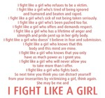 Breast Cancer T-shirts: Fight Like a Girl T-shirts