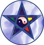Yin Yang Pentagram Products